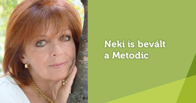 Bevált neki a Metodic – Zsadon Andrea véleménye a módszerről