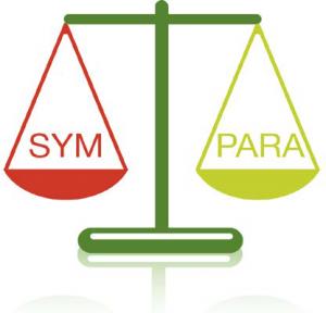 Az autonóm idegrendszer 2 részből áll: szimpatikus és paraszimpatikus részből.